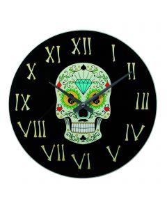 Ceas Coloured  Skull I, 35 cm