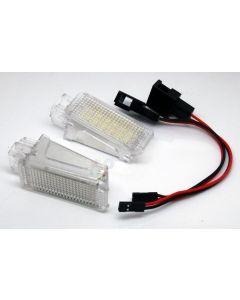 Lampi cu LED Portiera/Picioare VW, SEAT, SKODA