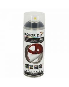 Spray Vopsea Cauciucata Kolor Dip 400ml Gri Inchis