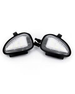 Lampi LED Undermirror VW Golf 6, Golf 6 Gti 2009~, Golf Cabriolet 2012~, Touran