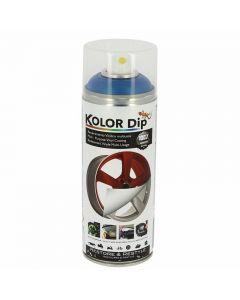 Spray Vopsea Cauciucata Kolor Dip 400ml Albastru Metalizat