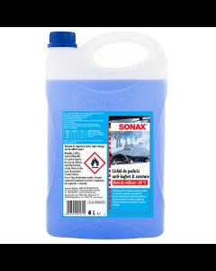 Lichid de parbriz anti-inghet -20′ c gata de utilizare 4 l Sonax