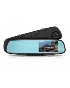 """Camera auto DVR in oglinda retrovizoare,FULL HD, Ecran LCD de 2,8 """" Night Vision, Foto, Playback, Senzor G"""