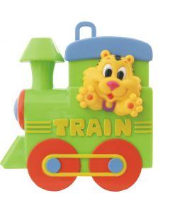 Cutie muzicala BabyMix Locomotiva