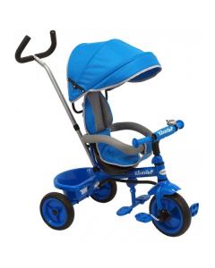 Tricicleta pentru copii Ecotrike Baby Mix blue