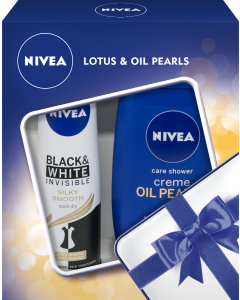 Set cadou Nivea Lotus & Oil Pearls