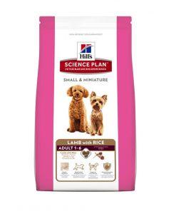 Hill's SP Canine Adult Small & Miniature cu Miel si Orez, 1.5 kg