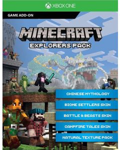 Joc Minecraft Explorers Pack Download Code Pentru Xbox One