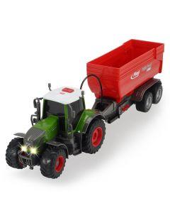 Tractor Dickie Toys Fendt 939 Vario cu remorca
