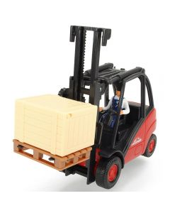 Stivuitor Dickie Toys Cargo Lifter cu accsorii