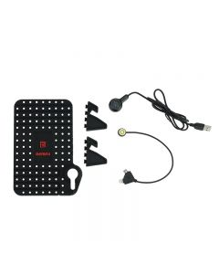 Suport auto telefon si cablu magnetic de incarcare  2 in 1, universal, Remax