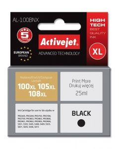 Cartus compatibil 100XL 108XL Black pentru Lexmark 14N1068E, 25 ml, Premium Activejet, Garantie 5 ani