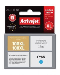 Cartus compatibil 100XL 108XL Cyan pentru Lexmark 14N1069E, 13 ml, Premium Activejet, Garantie 5 ani