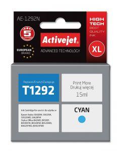 Cartus compatibil T1292 Cyan pentru Epson C13T12924010, Premium Activejet, Garantie 5 ani