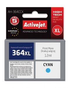 Cartus compatibil 364CXL cyan pentru HP CB323EE, Premium Activejet, Garantie 5 ani