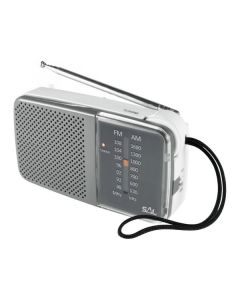 Radio orizontal de buzunar, AM/FM, 2x1.5V, mufa casti, Sal