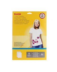 Hartie transfer termic Kodak A4, pentru textile albe