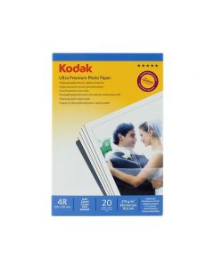 Hartie foto Kodak 4R 10x15 Ultra Premium Satin, 20 coli
