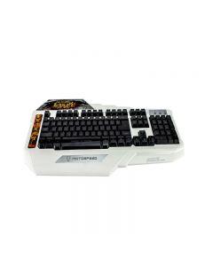 Tastatura gaming PGS Motospeed, iluminata LED verde, USB