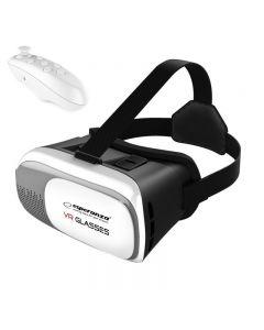 Ochelari VR 3D cu Telecomanda bluetooth, control jocuri