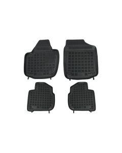 Covorase Presuri Auto Negru din Cauciuc SEAT Toledo 2013-; SKODA Rapid 2012-, Rapid Spaceback