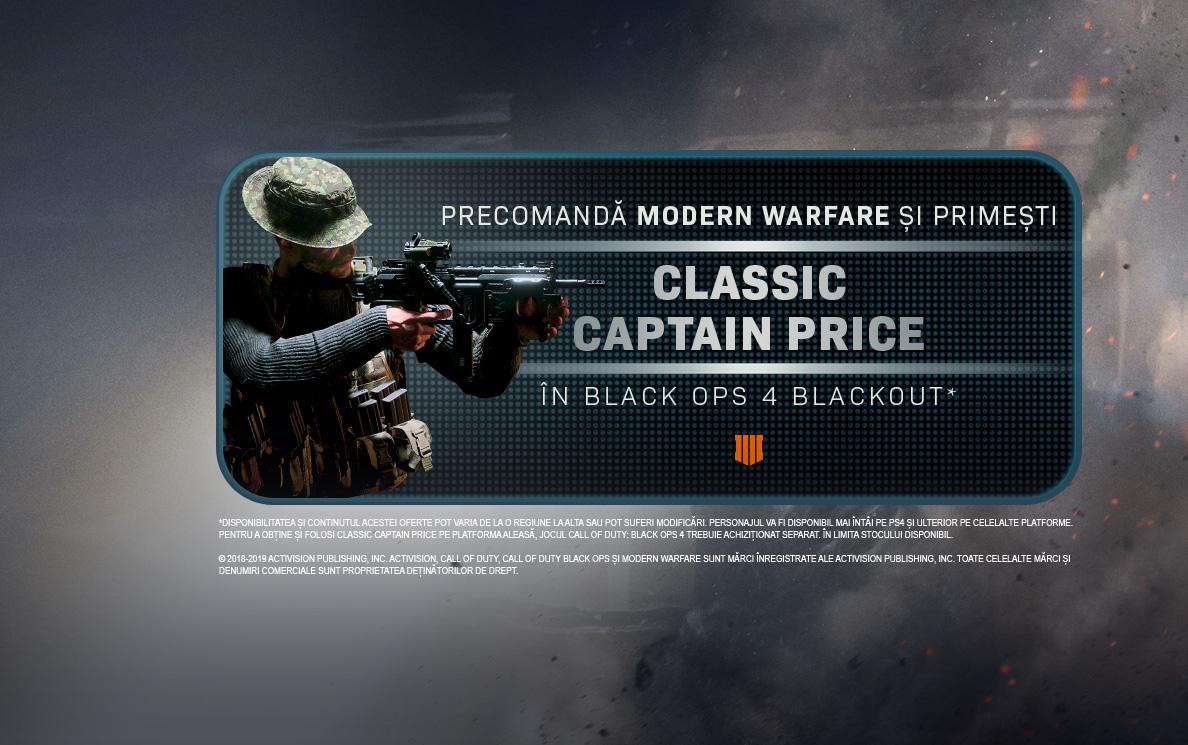 Bonus Captain Price